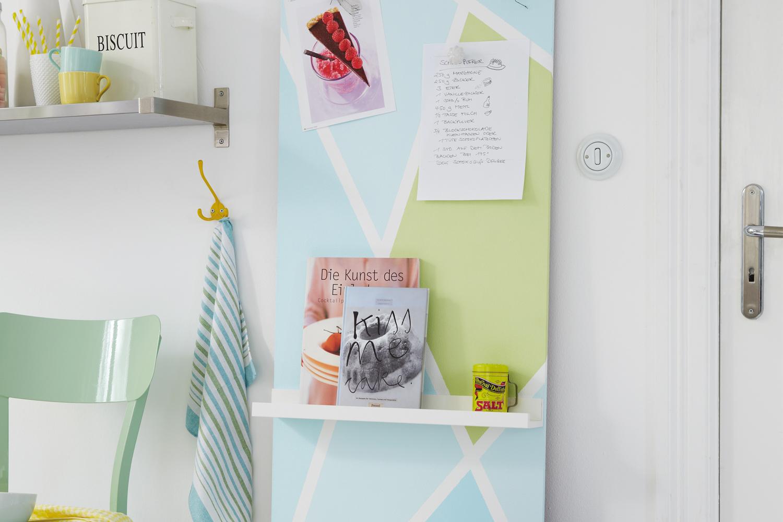 magnetwand selber machen so einfach und schnell geht s. Black Bedroom Furniture Sets. Home Design Ideas