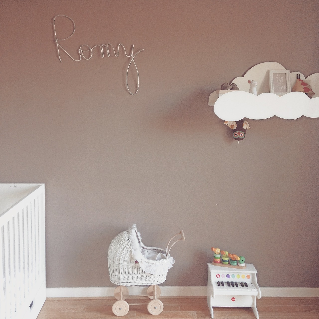 Kinderzimmer Beige zimmer-kinderzimmer-beige-baby-deko - miss made it