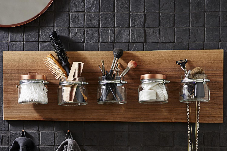 diy aufbewahrung f r das bad stylisch und praktisch zugleich. Black Bedroom Furniture Sets. Home Design Ideas
