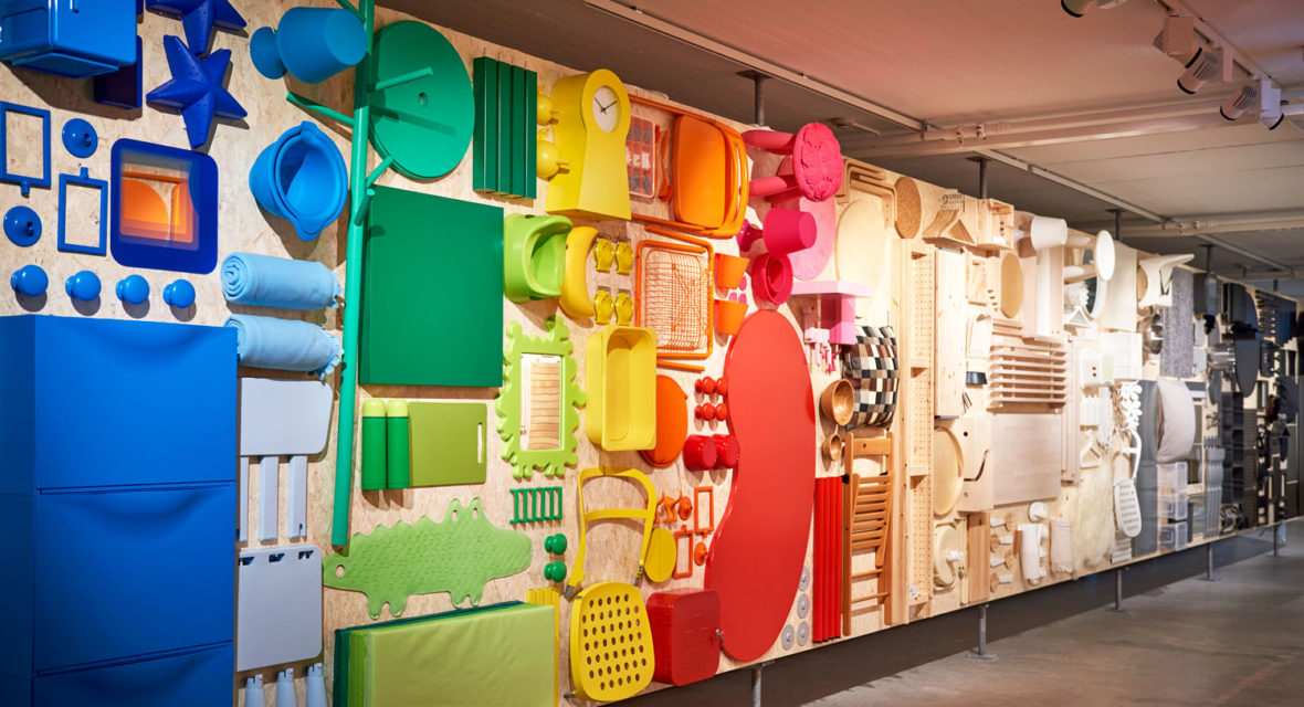 Ausstellung im Ikea Museum in Älmhult