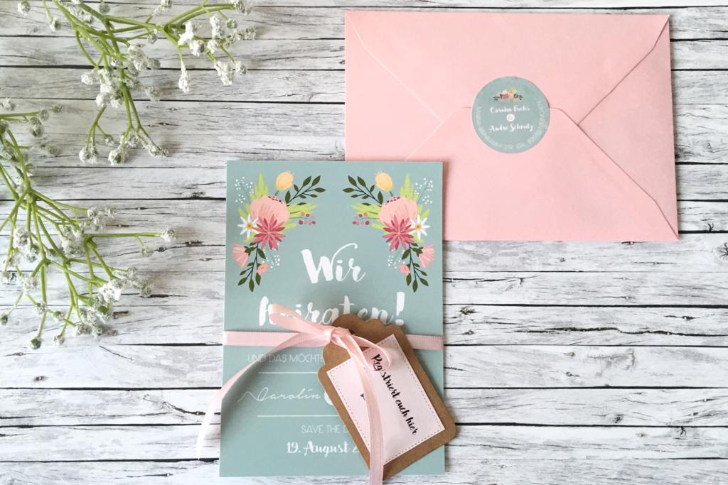 Originelle Save The Date Karten Basteln Fur Deine Hochzeit