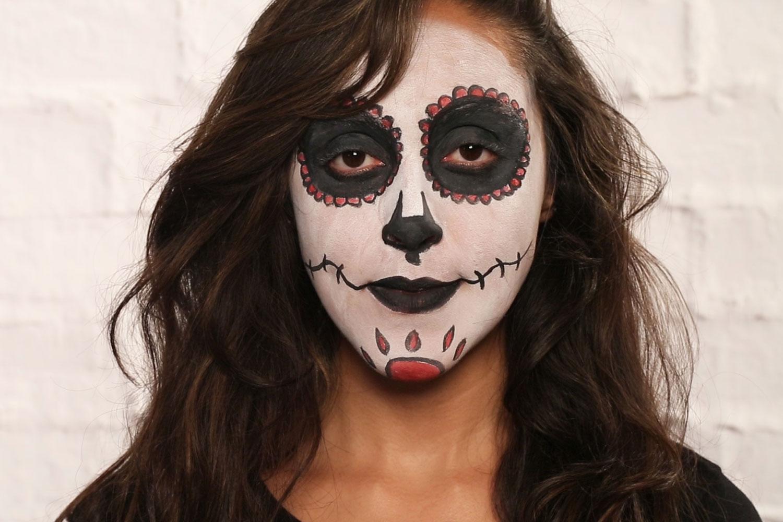 halloween make up so schminkst du die mexikanische. Black Bedroom Furniture Sets. Home Design Ideas