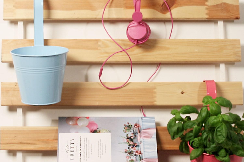 Ikea Idee: Organizer aus Lattenrost