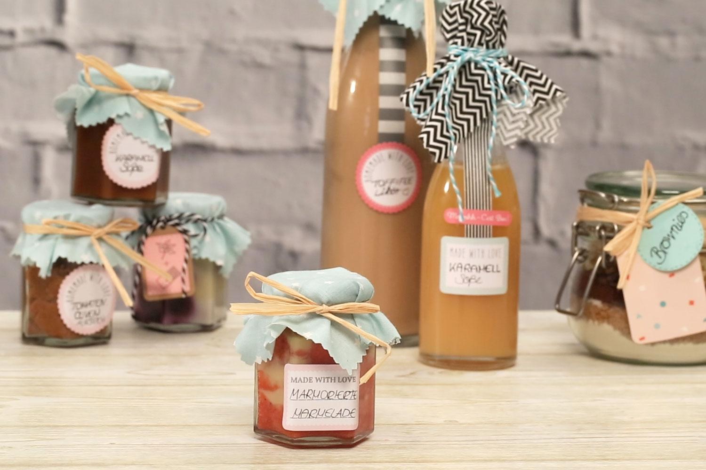 Marmorierte Marmelade selber machen und verschenken