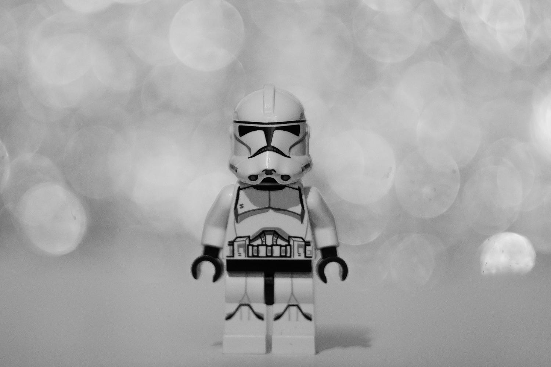 Stormtrooper als Lego-Figur