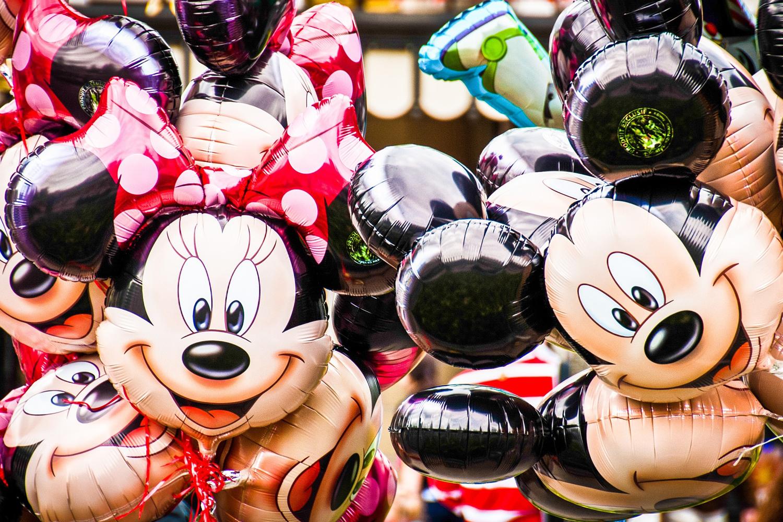 Minnie und Mickey Mouse Luftballons