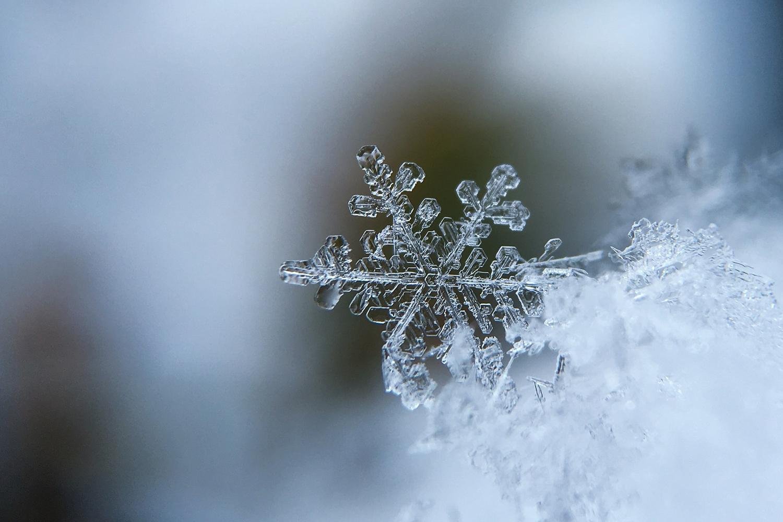 schneeflocken basteln