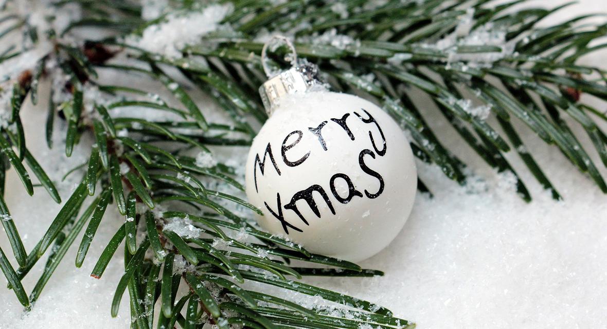 Weihnachtskugeln basteln, die sonst keiner hat