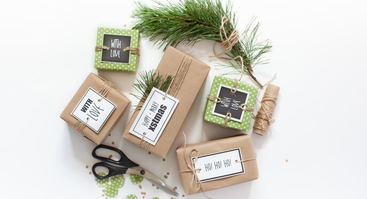 Weihnachtsanhänger basteln für deine Geschenke