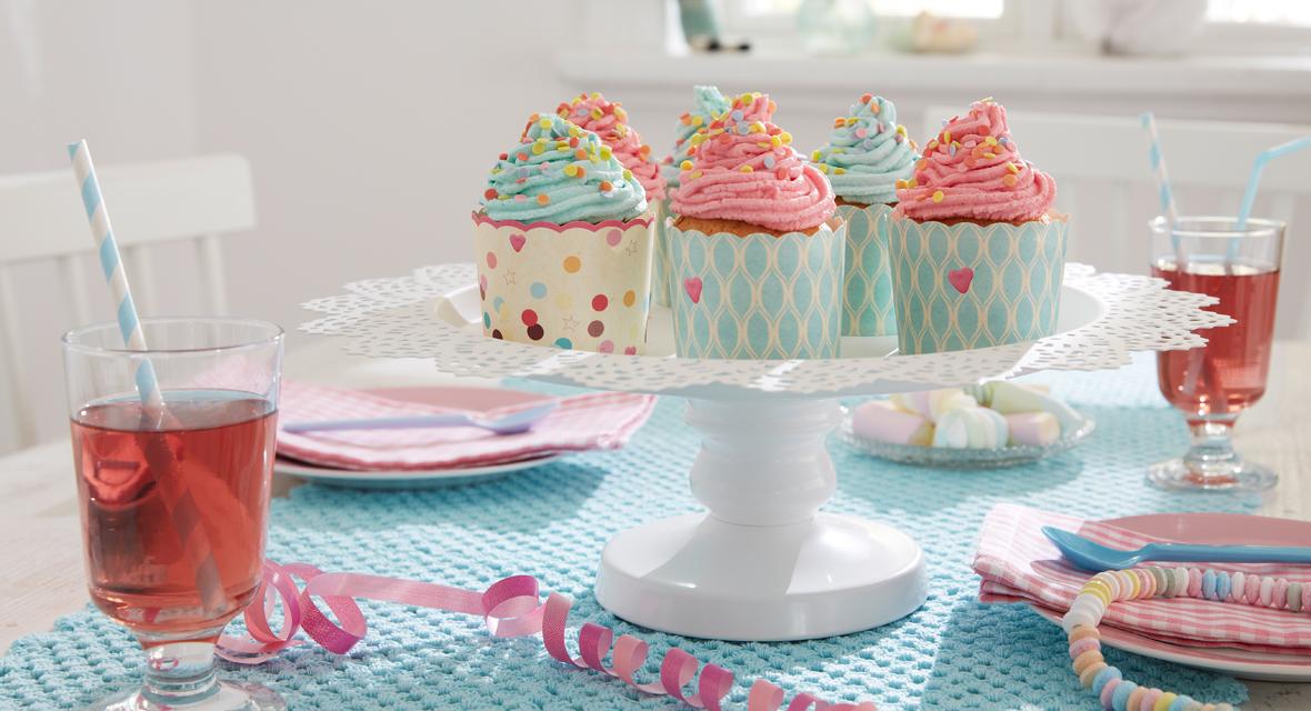Etagere selber machen für Cupcakes