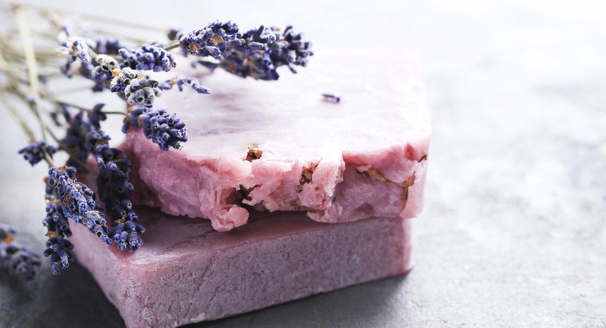 Lavendel Seife herstellen: So geht's