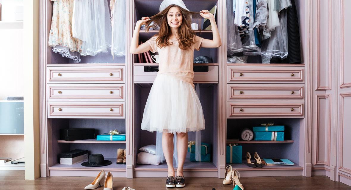 5 Tricks für mehr Ordnung im Kleiderschrank
