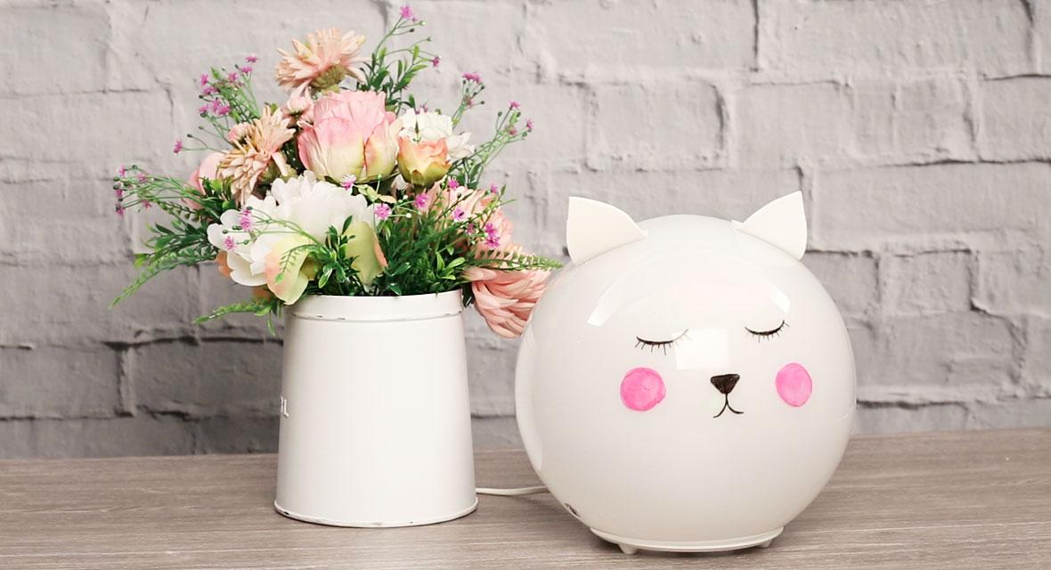 Ikea Fado Hack: Katzen-Lampe
