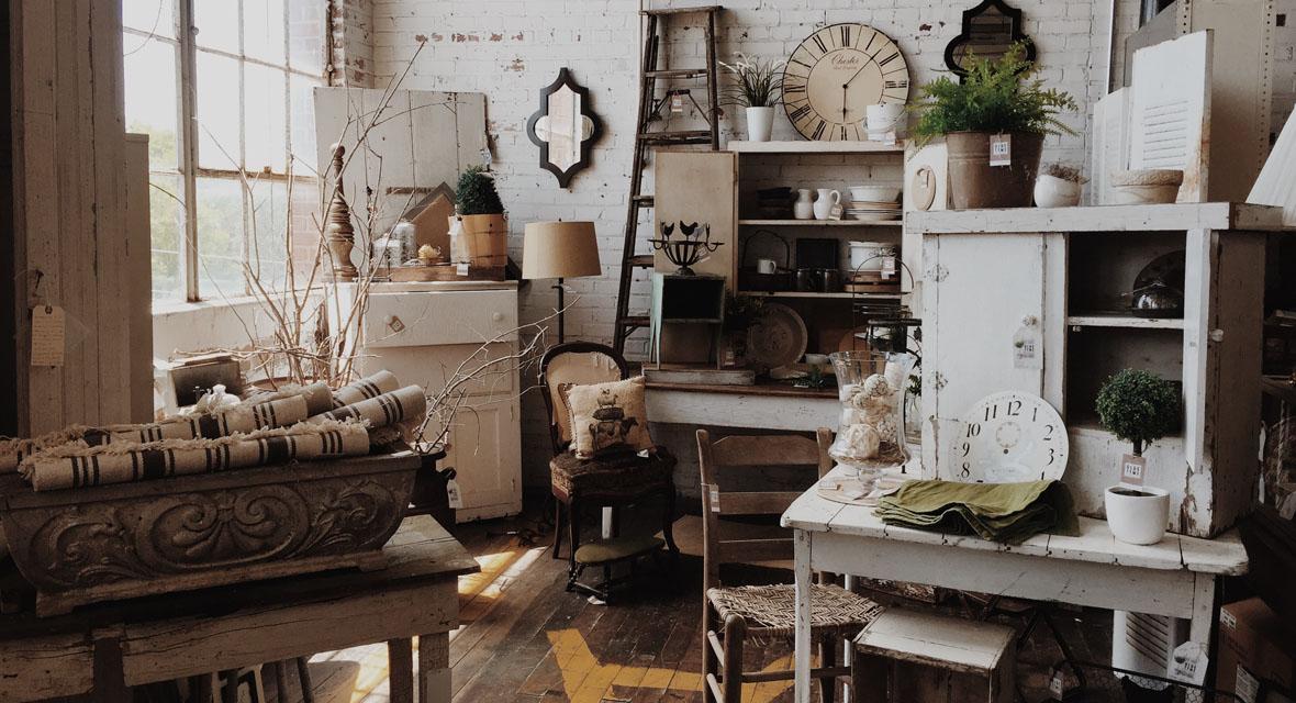 Möbel streichen im Shabby chic