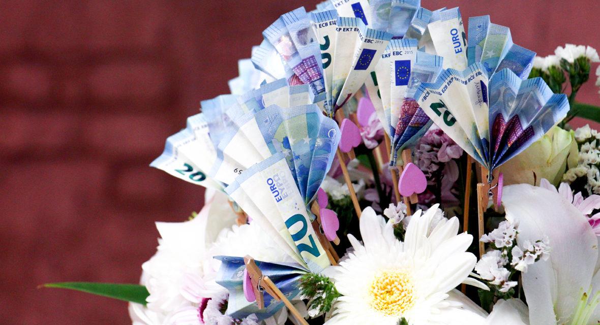 Hochzeitsgeschenk Basteln Die 4 Tollsten Ideen Fur Geldgeschenke