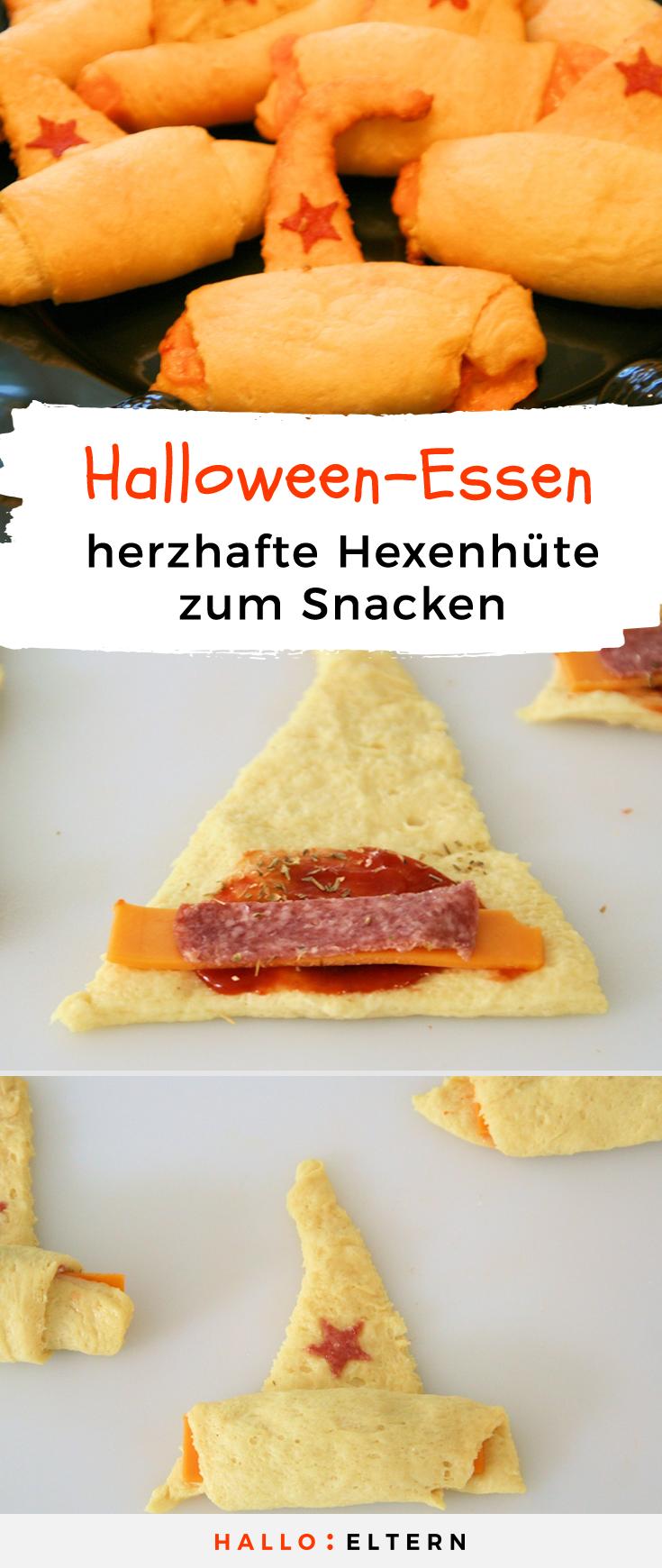 Halloween Essen Hexenhüte