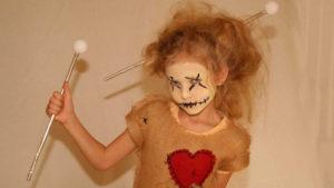 Voodoo-Puppe-Kostüm