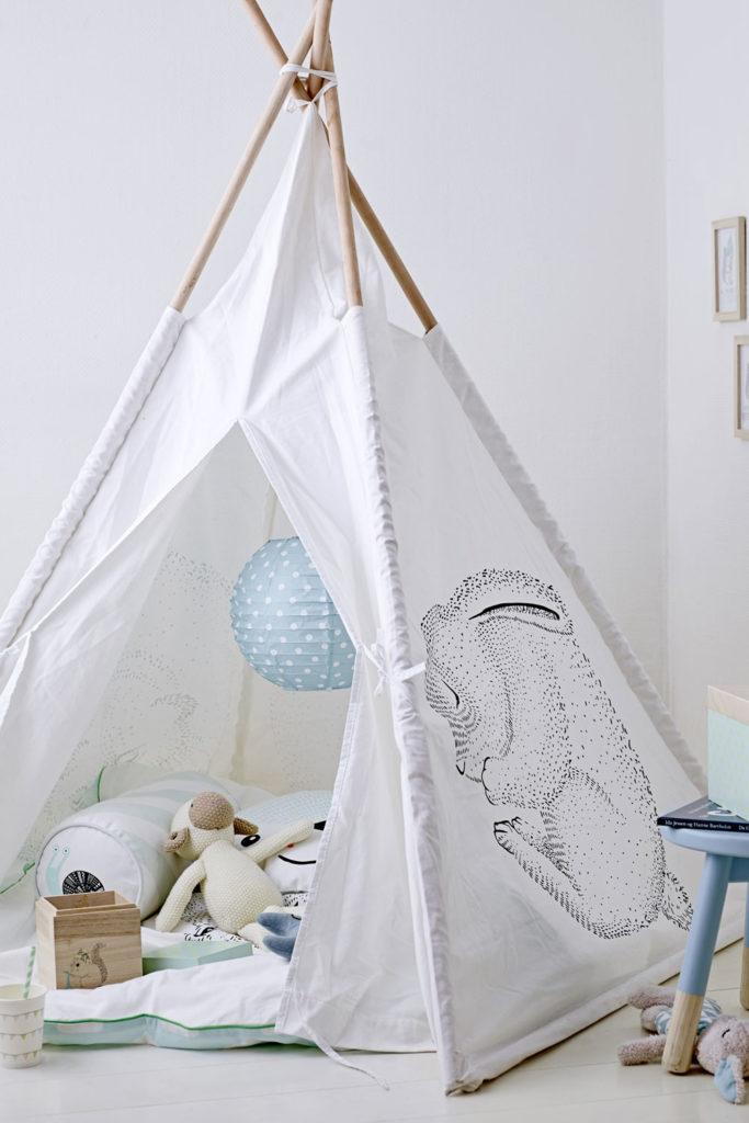 5 Gründe, warum du unbedingt ein Tipi fürs Babyzimmer brauchst