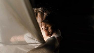 Kleines Mädchen hat Angst vor Alptraum