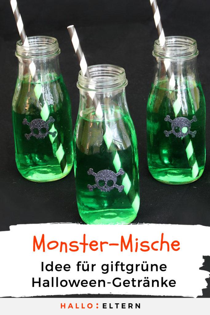 giftgrünes Halloween Getränk