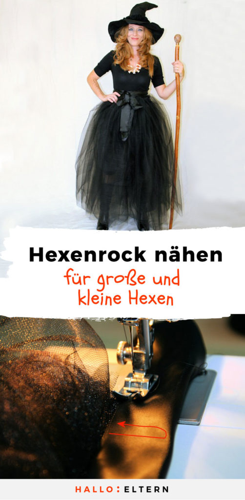 hexenrock n hen anleitung f r ein kost m. Black Bedroom Furniture Sets. Home Design Ideas