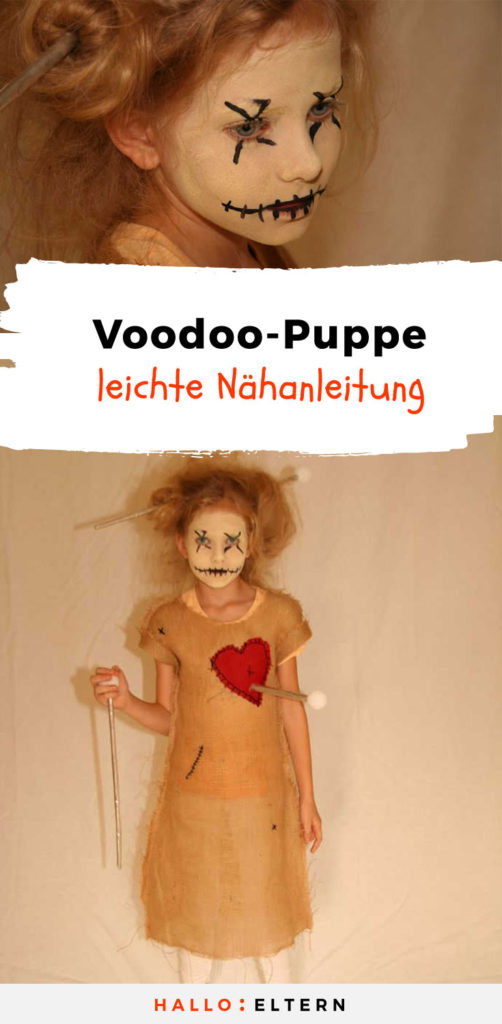diy voodoo puppe kost m f r halloween so geht 39 s. Black Bedroom Furniture Sets. Home Design Ideas