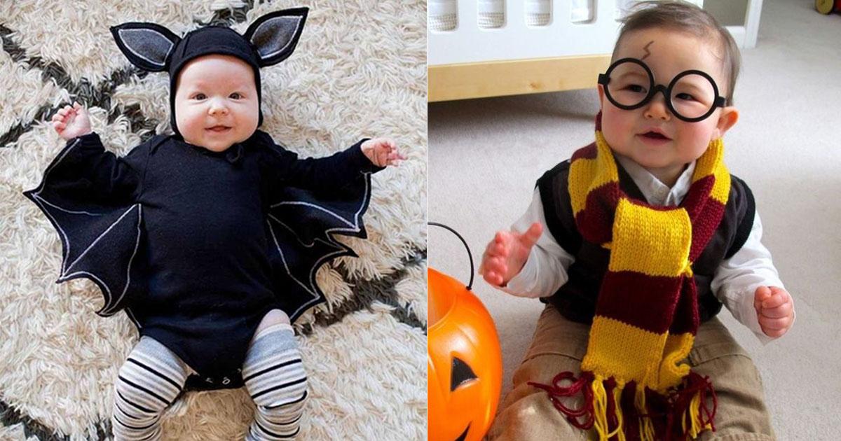 Halloweenkostum Baby 16 Niedliche Ideen Die Auch Dein Baby Lieben Wird