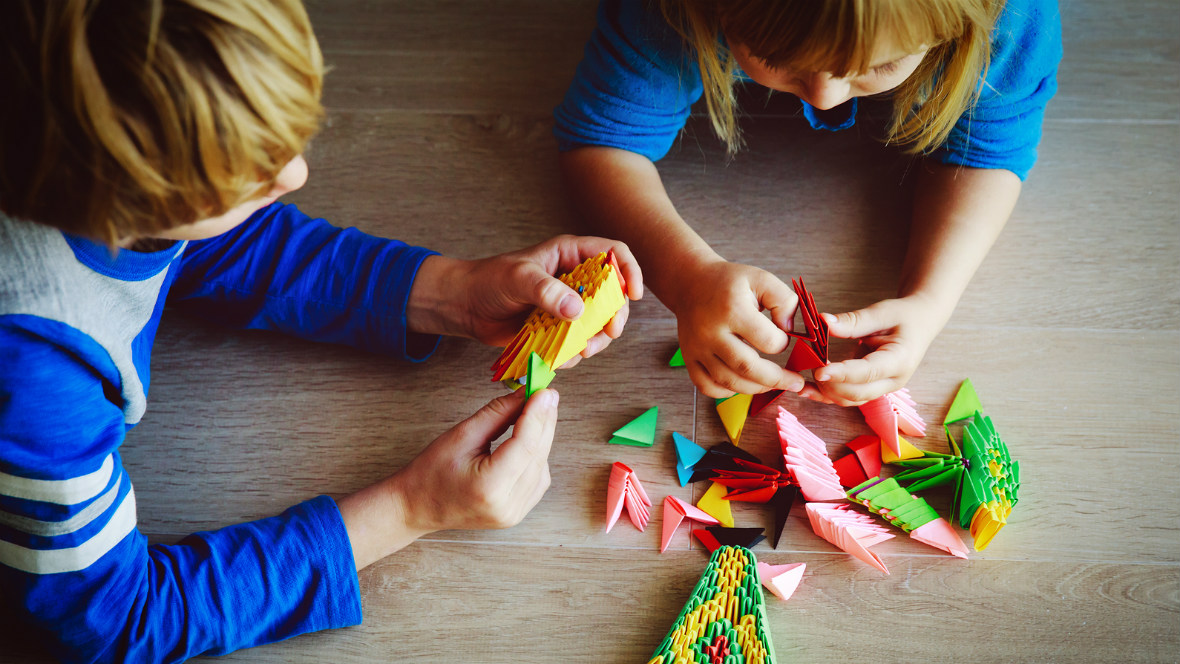 Basteln Mit Papier 3 Einfach Anleitungen Fur Kinder