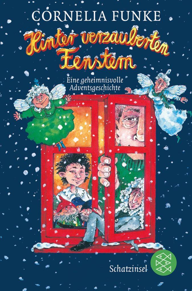 Adventskalender-Buch: Hinter verzauberten Fenstern: Eine geheimnisvolle Adventsgeschichte