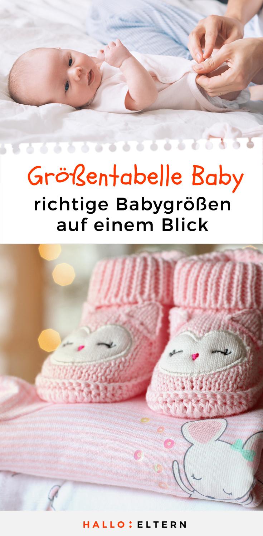 Grossentabelle Baby So Findest Du Die Richtigen Babygrossen