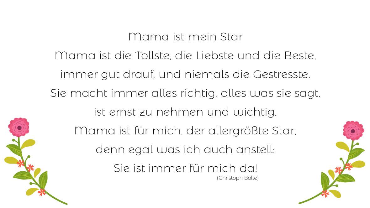 Die schönsten Muttertagsgedichte
