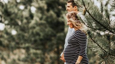 Schwangerschaftskalender mit einem Paar