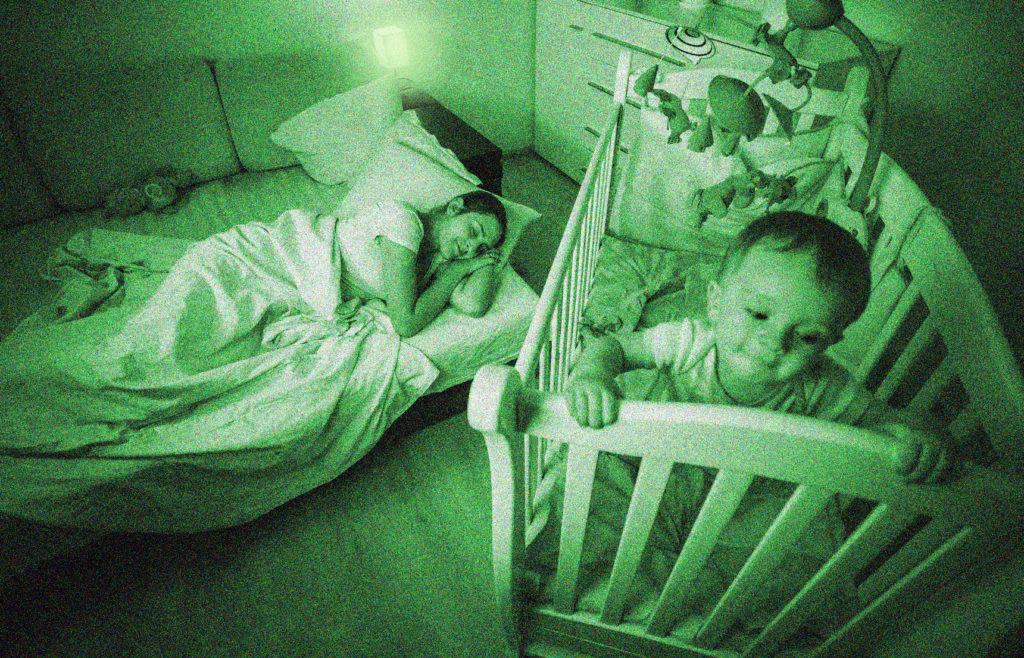 Mutter schläft, Kind nicht