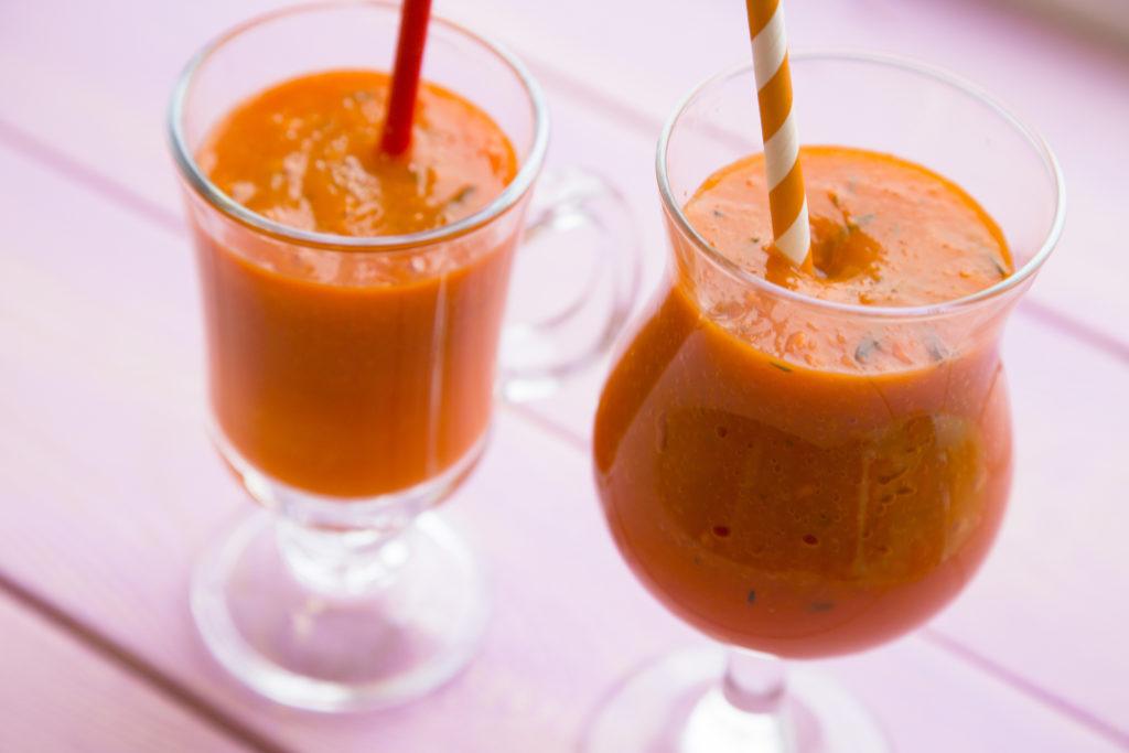 Rezepte mit Kürbis-Kürbisrezepte-Kürbis-Smoothie