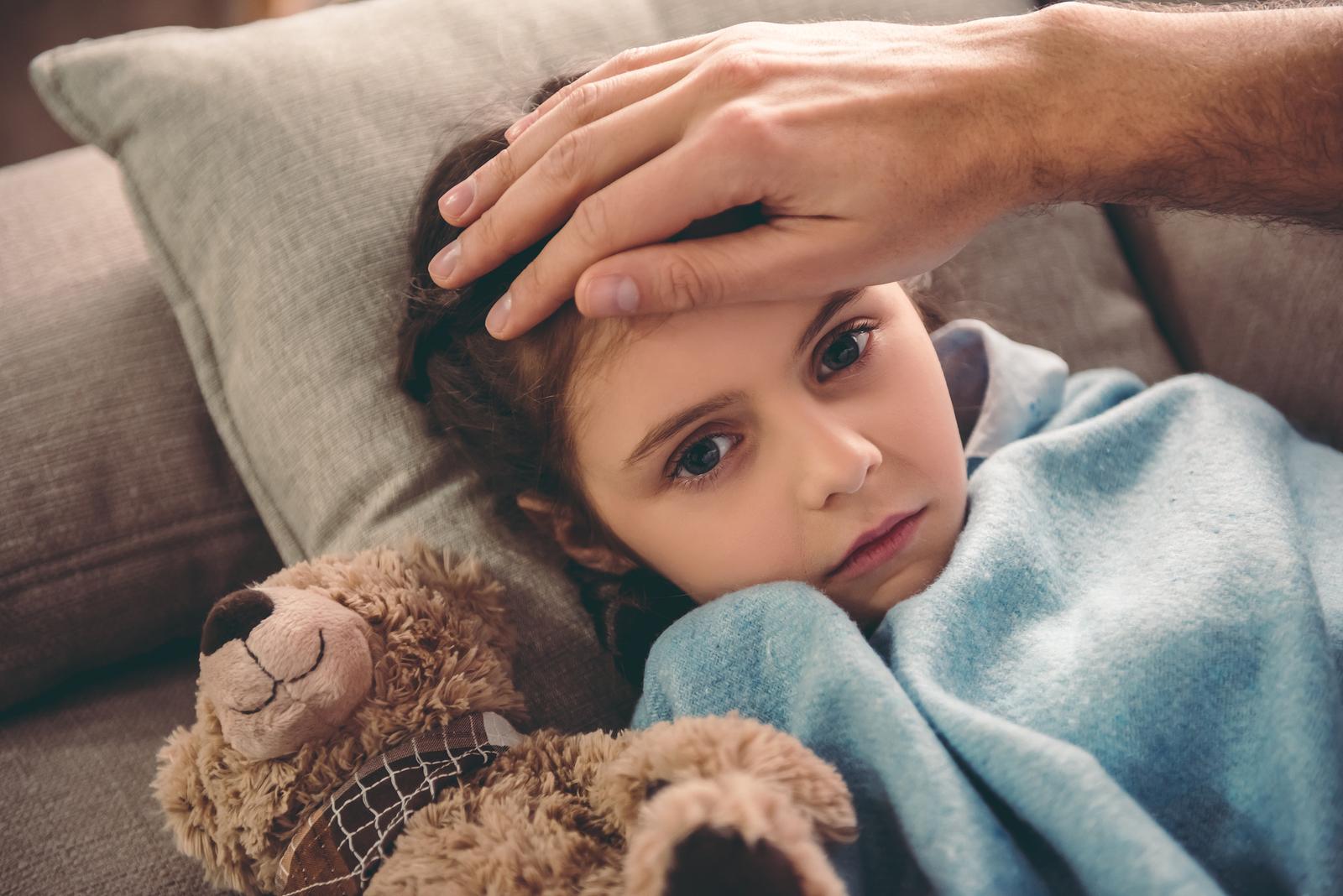 Lungenentzündung Kind ist krank