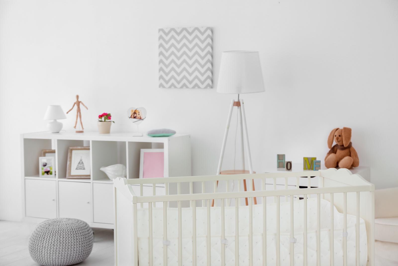 Minimalistisches Kinderzimmer