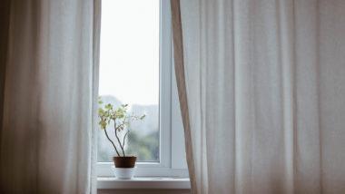 Fenster in einem Zimmer, in dem eine Chorionzottenbiopsie durchgeführt wird
