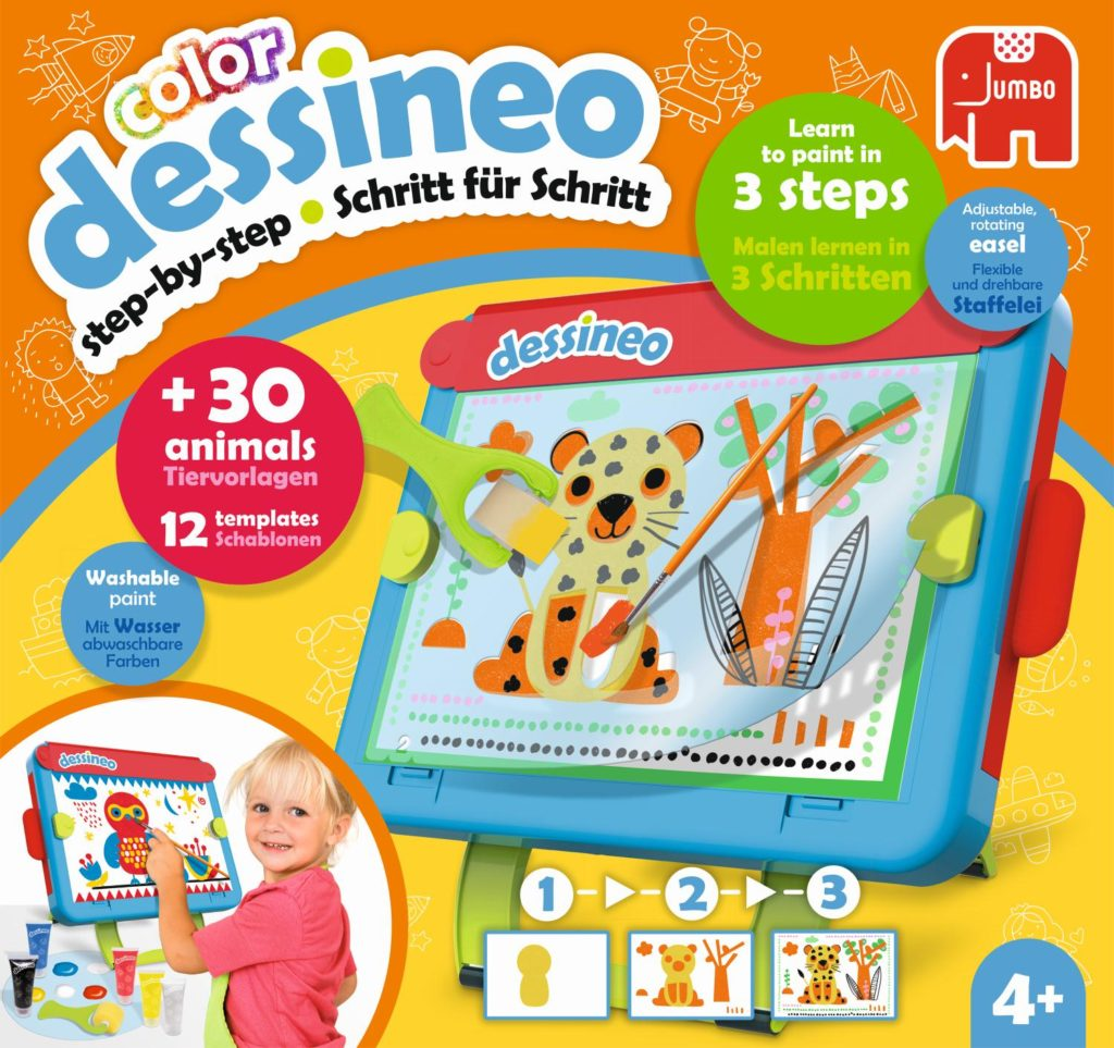 dessineo color Staffelei von JUMBO