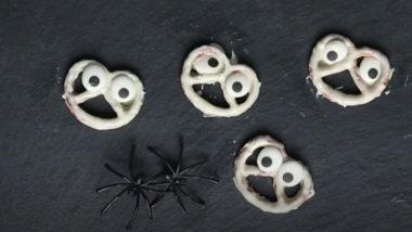 Kleine Geister aus Salzbrezeln
