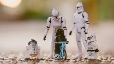 Stars Wars Figuren als Familie
