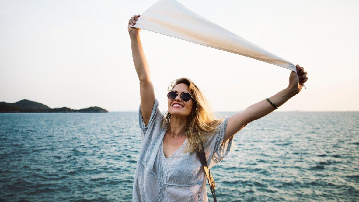 Finde deinen Seelenfrieden und reise mit leichtem Gepäck