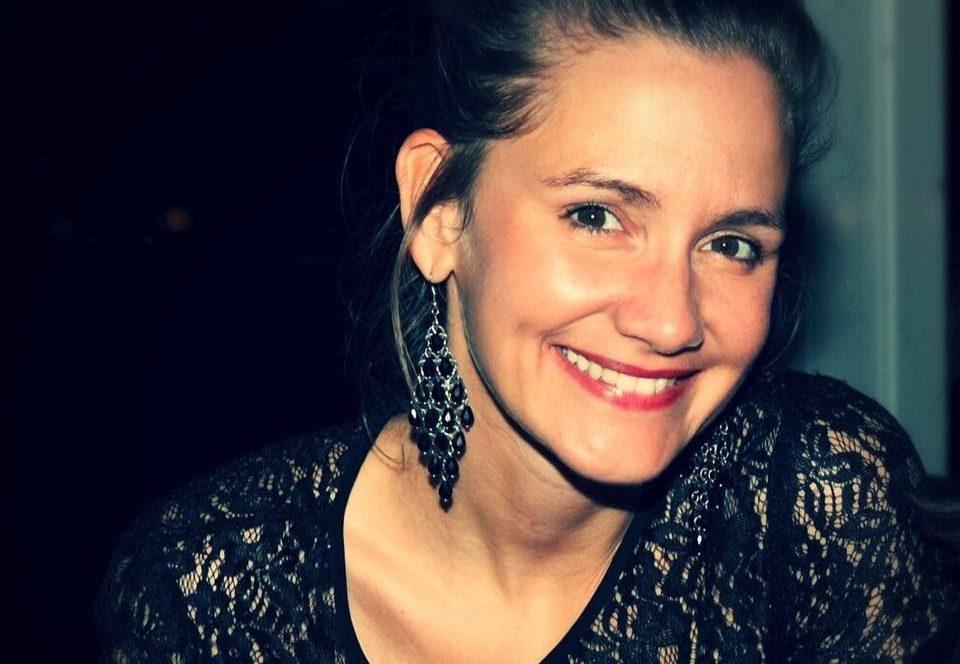 Das ist unsere Autorin Christina Grübl