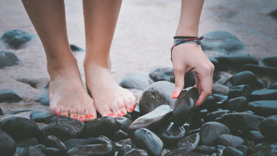 Gönne deinen Füßen nach einem stressigen Tag eine Auszeit.