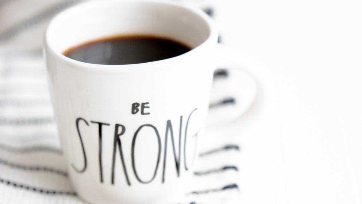 Innere Stärke kommt nicht von heute auf morgen, aber man kann sie erlangen.