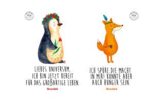 Pinguin und Fuchs