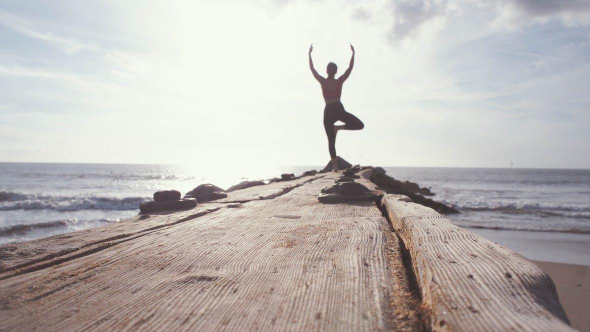 Yoga am Morgen macht deinen Geist frei.