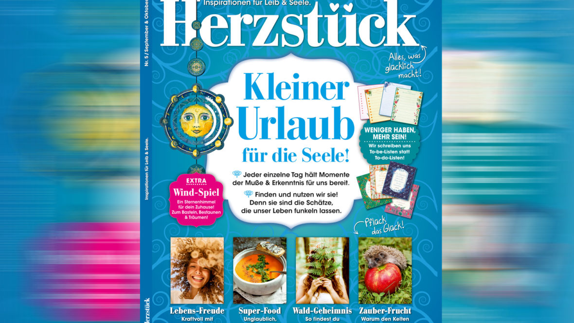 die urlaubszeit genie en mit dem neuen herzst ck magazin. Black Bedroom Furniture Sets. Home Design Ideas