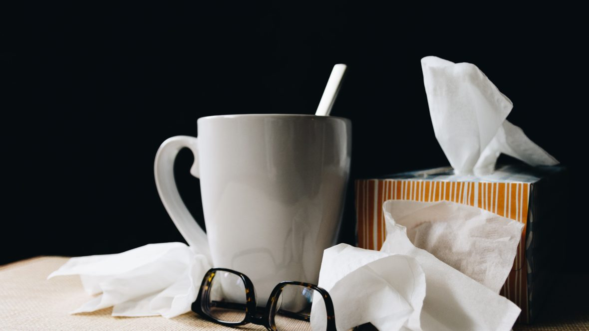 Damit du deine Erkältung schnell überstehst.
