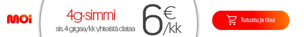 MOi mobiili tarjous kuuden euron simmi