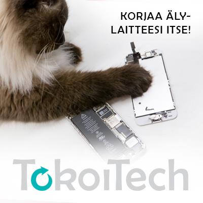 Korjaa puhelimesi tai tabletti ITSE – Tokoi Tech tarjoaa laatuosat ja ohjeet